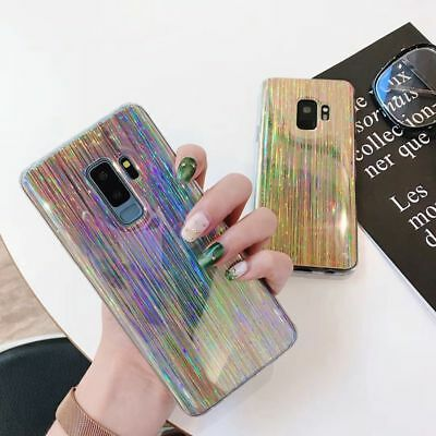 Holographic 3D Rainbow Cover Phone Case for Samsung Galaxy S9/S9Plus/S8/Note8