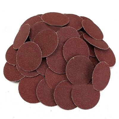 50Pcs 120 Grit 2 inch Roloc Roll Lock Sanding Grinding Discs for Polishing W2T1