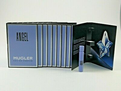 Thierry Mugler ANGEL 10 x 1,2 ml EDP Eau de Parfum Spray Probe Luxus Proben