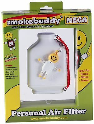 White Smoke Buddy Mega Personal Air Purifier Cleaner Filter Removes Odor