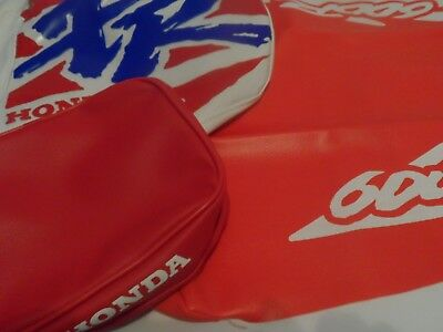 KIT COVER HONDA XR 600R SEAT & TANK 1994 covers and Rear Fender Bag Honda