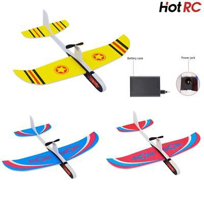 Launch Glider Plane Outdoor Rotating Kids Toy Gift Electric Hand Throw Airplane