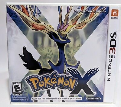 Pokemon X -3DS- Replacement Case *NO GAME*