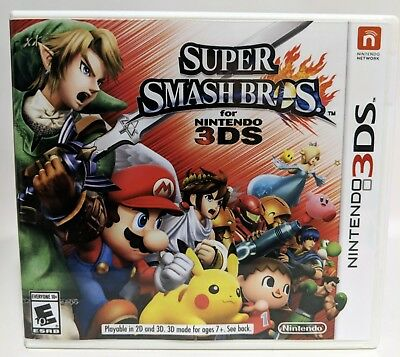 Super Smash Bros. -3DS- Replacement Case *NO GAME*