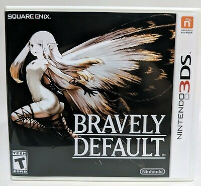Bravely Default -3DS- Replacement Case *NO GAME*