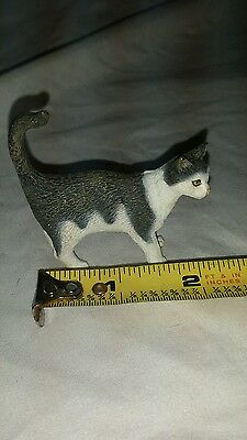 Schleich 13638 Cat Standing Model Toy Animal Model Figurine Retired
