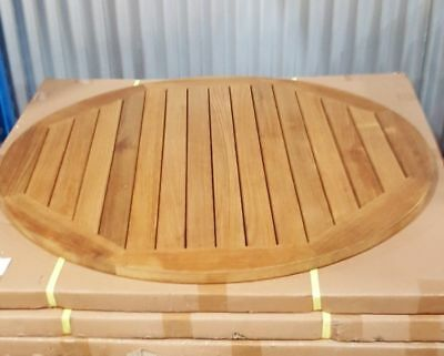 "NEW 36"" 30"" or 24"" Round Teak Commercial Restaurant Table Top LIQUIDATION"