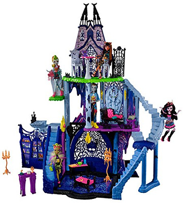 Monster High School Catacombs Toy Doll House Playset