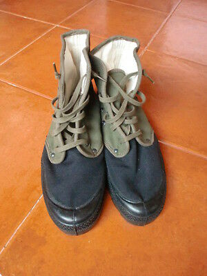Portuguese Army M64 Canvas Jungle Boots (Big Size) Africa War