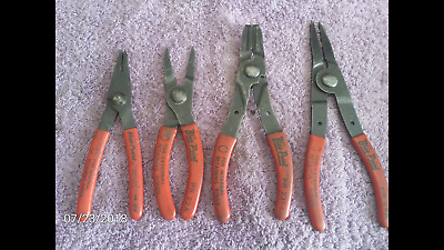 Blue Point Snap Ring Pliers 4pc set
