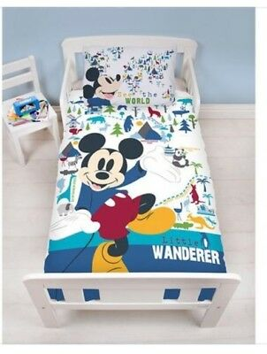 Mickey Mouse Toddler/cot Bedding
