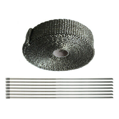 Heat Wrap For Exhaust 1'' X 25' Universal  For Exhaust Pipes Exhaust Wrap