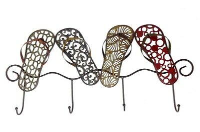 THONG SHOE HOOK Wall Mount Multi Colour Metal Home Decor