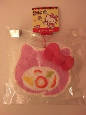 f0d6a2f23 SANRIO HELLO KITTY Swiss Cake Roll Squishy RARE Pink and White ...