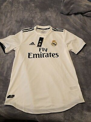 1e02740af52 Adidas Real Madrid 2018-19 CG0561 Jersey Adult LARGE Authentic Climachill  NIB