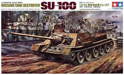 Tamiya 1/25 Russian SU-100 Kit 25104