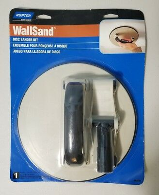 BRAND NEW Norton Wallsand Disc Sander Kit #68241 Sander and Pole Adapter.