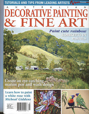 Magazine - Decorative Painting & Fine Art Vol 20 No. 3