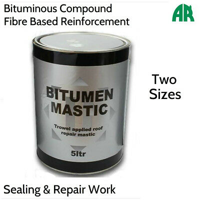 Bitumen Trowel Mastic | Roof Repair Sealant | Roofing Repair | Waterproofing