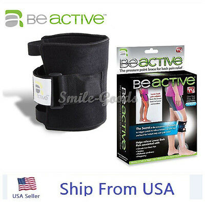 BeActive Leg Knee Brace Acupressure Relieves Sciatic Nerve And Back Pain#o