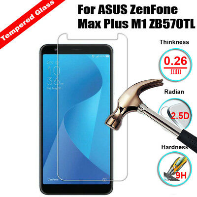 9H Tempered Glass Screen Protector Film For ASUS ZenFone Max Plus M1 ZB570TL