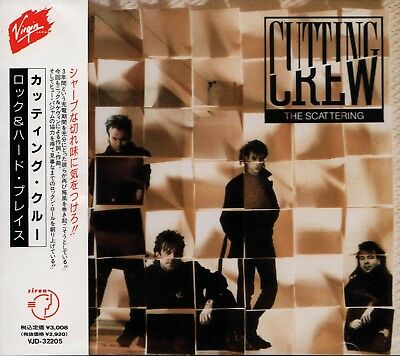 CUTTING CREW The Scattering EARLY PRESS JAPAN CD OBI VJD-32205