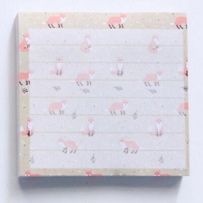 Self-Adhesive Memo Pad Sticky Animal Label Sticky Notes School Supply LH