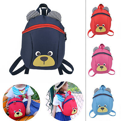 Kids Toddler Walking Safety Harness Backpack Security Strap Bag with Reins