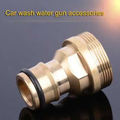 Home Water Pipe Quick Connector Copper Adaptor Car Washing Hose Spray Tap Nozzle