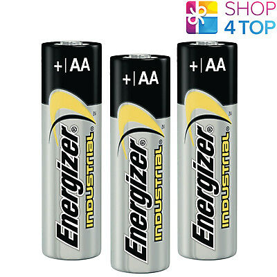 3 Energizer Aa Alkaline Lr6 Batteries 1.5V Industrial Mignon Mn1500 Am3 E91 New
