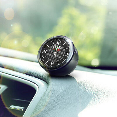 Vintage Analog Car Electric Quartz Clock For Audi Interior Ornaments Decoration