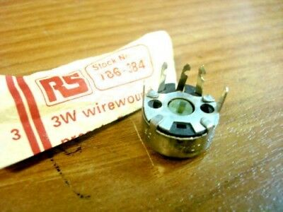 PRESET:   3 Watt Wirewound Lin  Various ohmic values See Listing  ........