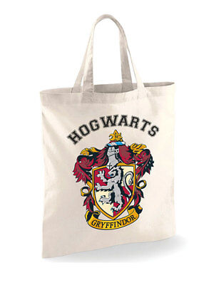 harry potter Poudlard écusson insigne officiel sac fourre-tout en coton shopping