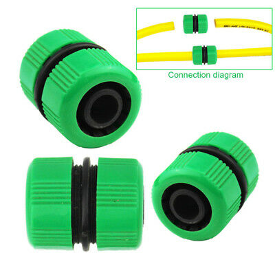 "3pcs 3/4"" Garden Water Hose Connector Pipe Quick Joining Repair Leaking Joiner"