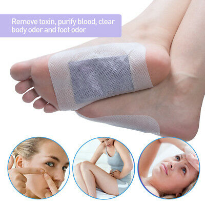 12Pcs Lavender Detox Foot Patches Nourishing Repair Feet Patch Pads Striking QAF
