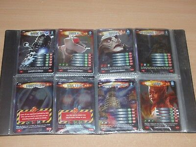 Doctor Who Battles in time folder and all 28 rare Exterminator cards.