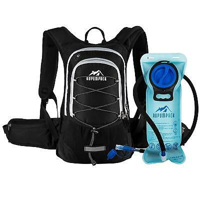 Insulated Hydration Backpack Pack BPA Free 2L Water Bladder - Keeps Liquid Cool