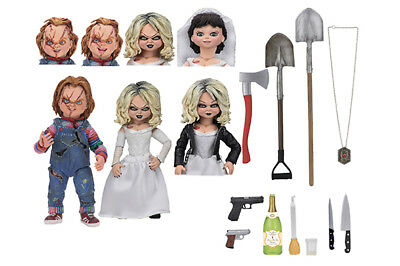 Neca BRIDE Of CHUCKY & TIFFANY 2-Pack ULTIMATE Action Figure DELUXE Pre-order
