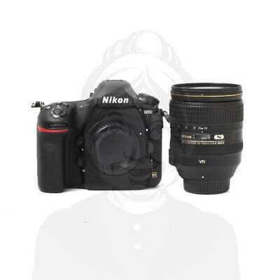 Autentico Nikon D850 Digital SLR Camera + AF-S 24-120mm f/4G ED VR Lens Kit