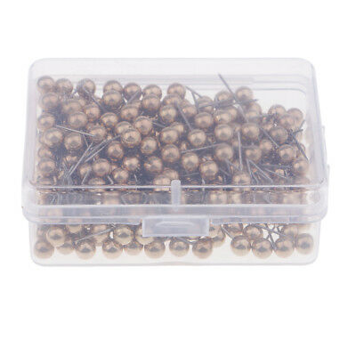 300-count carte punaises Pins Thumbtacks tête en plastique avec pointe en