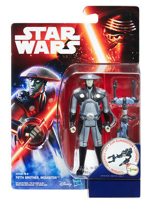 """Star Wars Rebels: The Fifth Brother Inquisitor / 3.75"""" Action Figure (BRAND NEW)"""