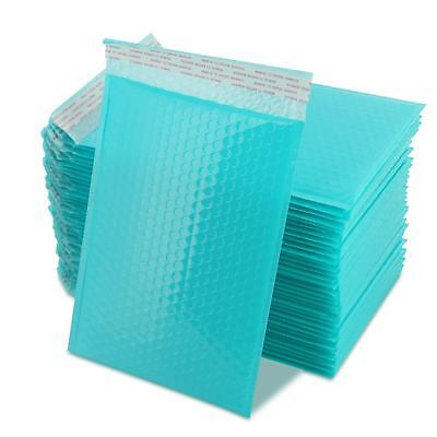 50 Pcs Packaging Self Seal Bubble Plastic Mailers Postage Bags 190mm x 260mm