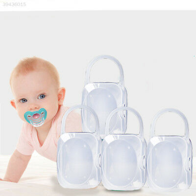A3C6 Portable Boy Girl Infant Pacifier Nipple Case Storage Box Baby Supplies