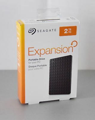 Seagate Festplatte Expansion Portable USB 3.0 (2TB)