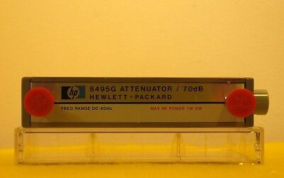(RF1084) HP-Agilent Programable Coaxial Attenuator * Model:  8495G
