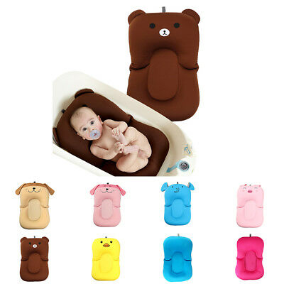 Soft Baby Bath Pillow Pad Infant Lounger Air Cushion Floating Bather Bathtub Pad