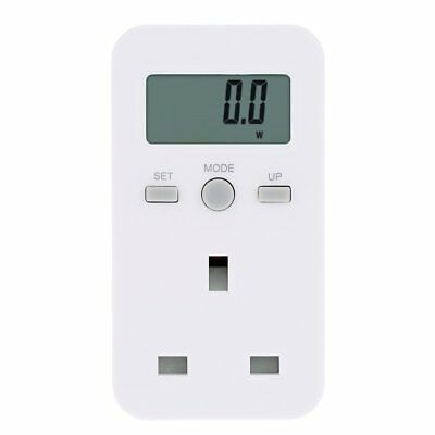Plug-in Digital LCD Energy Monitor Electric Power Meter - Free P&P Worldwide!