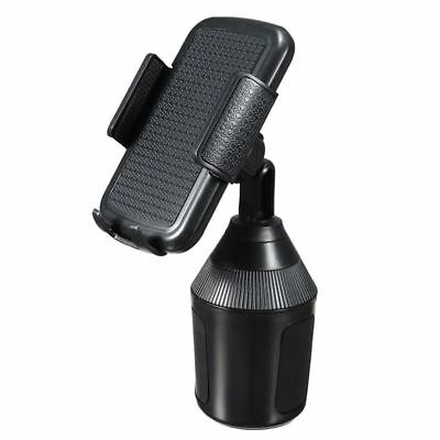 360 Degree Adjustable Car Cup Holder Stand Cradle Mount For iPhone Phone Fo Q4T4