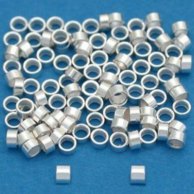 of  12   Made In USA  #2205S 5 MM Sterling Silver Rondelle bright  Beads Pkg