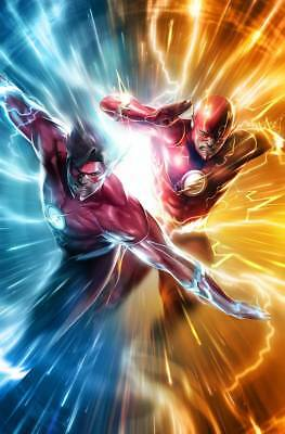 Flash #51 Francesco Mattina Variant Cover DC Universe Comics